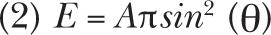 BioOptics World: Equation 2