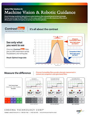 Machine Vision Sell Sheet