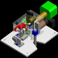 Home-built SPIM instruments can be unstable, says Ernst Stelzer. He has built a digital scanned lightsheet microscope milled from an aluminum block. Image courtesy: E. Stelzer, Goethe University